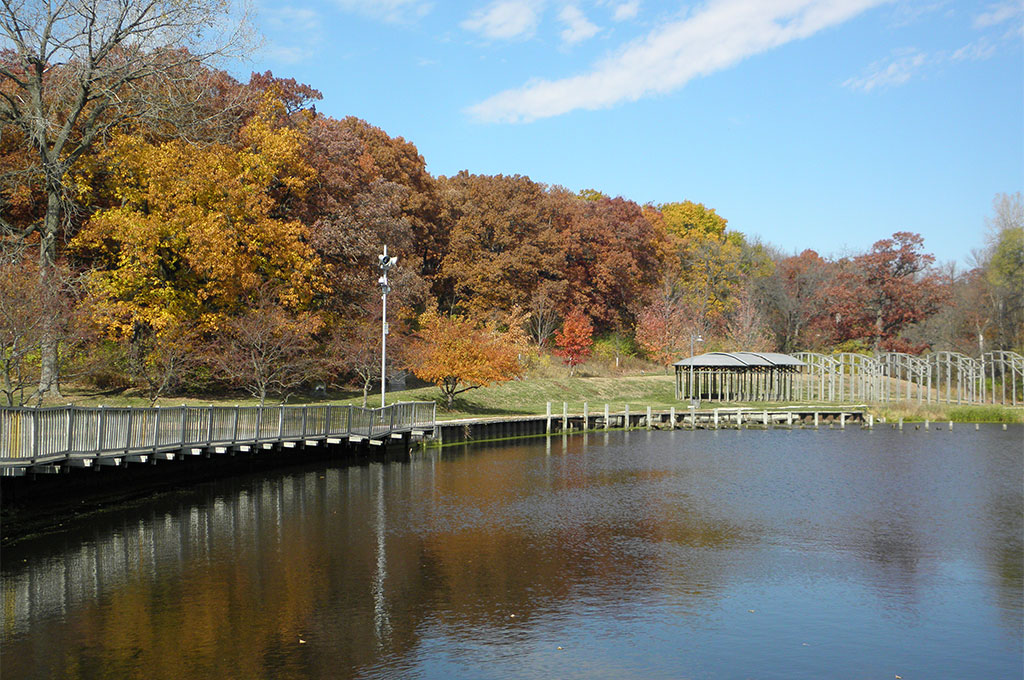 Greenwood Pond in Autumn